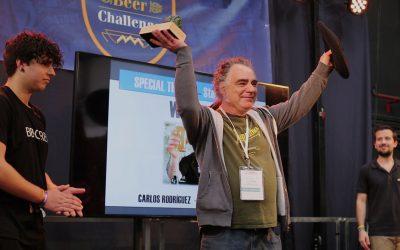 Carlos Rodriguez, de Ales Agullons, premio Steve Huxley 2019