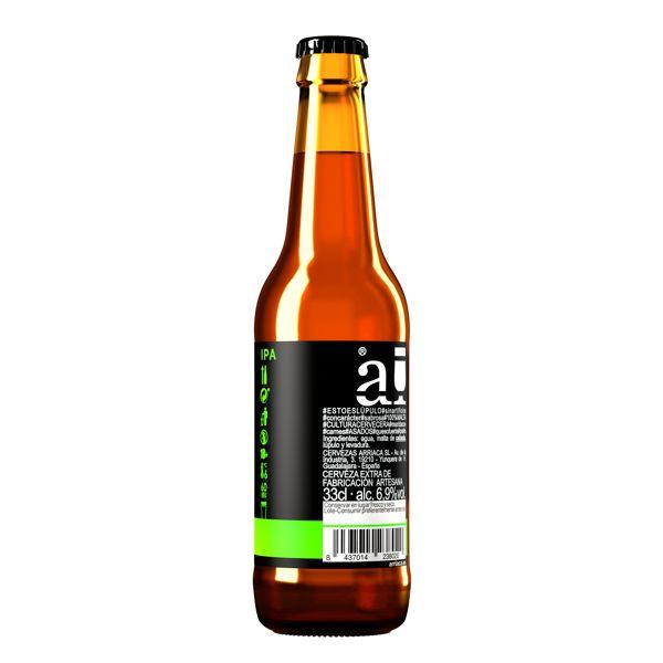 Arriaca IPA botella etiqueta