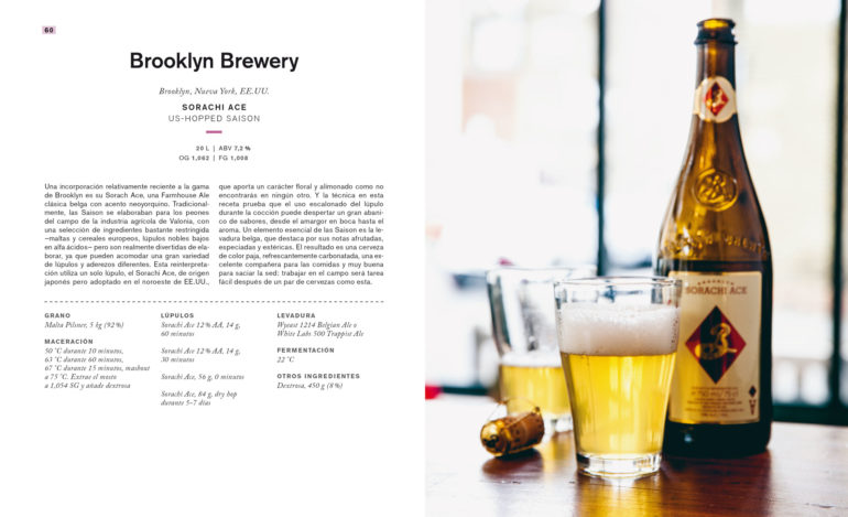Craft Beer libro de recetas de cerveza Brooklyn
