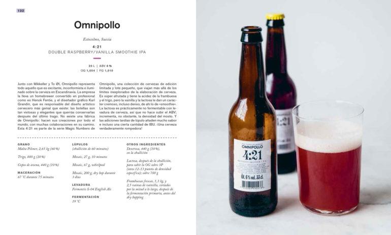 Craft Beer libro de recetas de cerveza Omnipollo