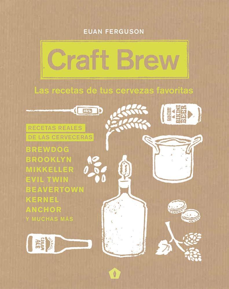 Craft Beer libro de recetas de cerveza
