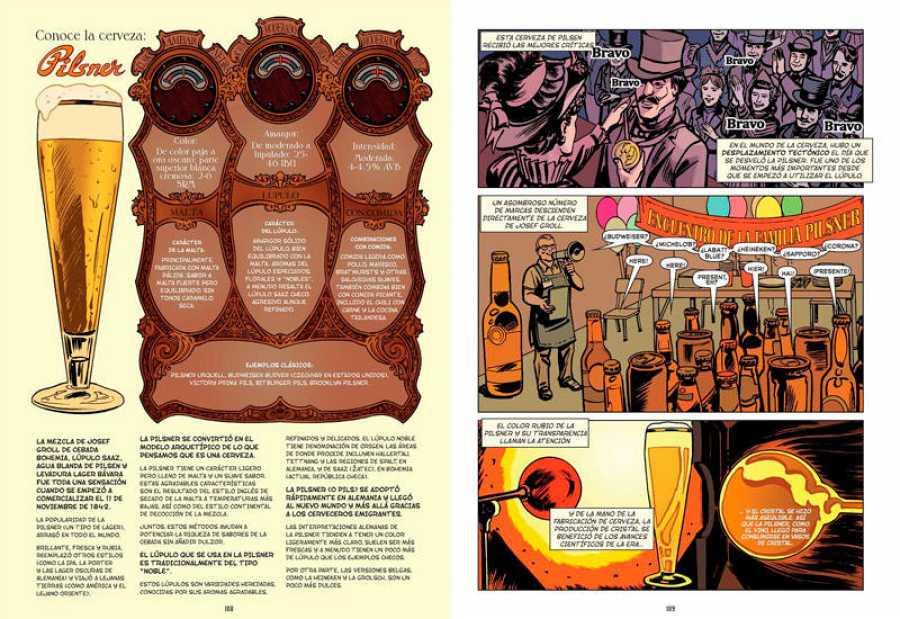 Comic Historia de la Cerveza Interior