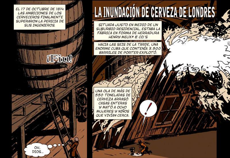 Comic Historia de la Cerveza viñeta
