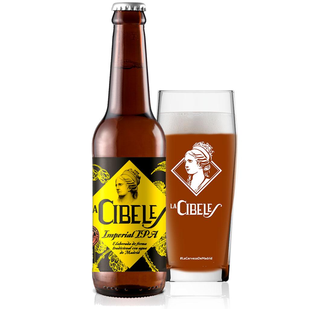 Cervezas La Cibeles Imperial IPA