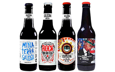 Pack cervezas Galician Brew