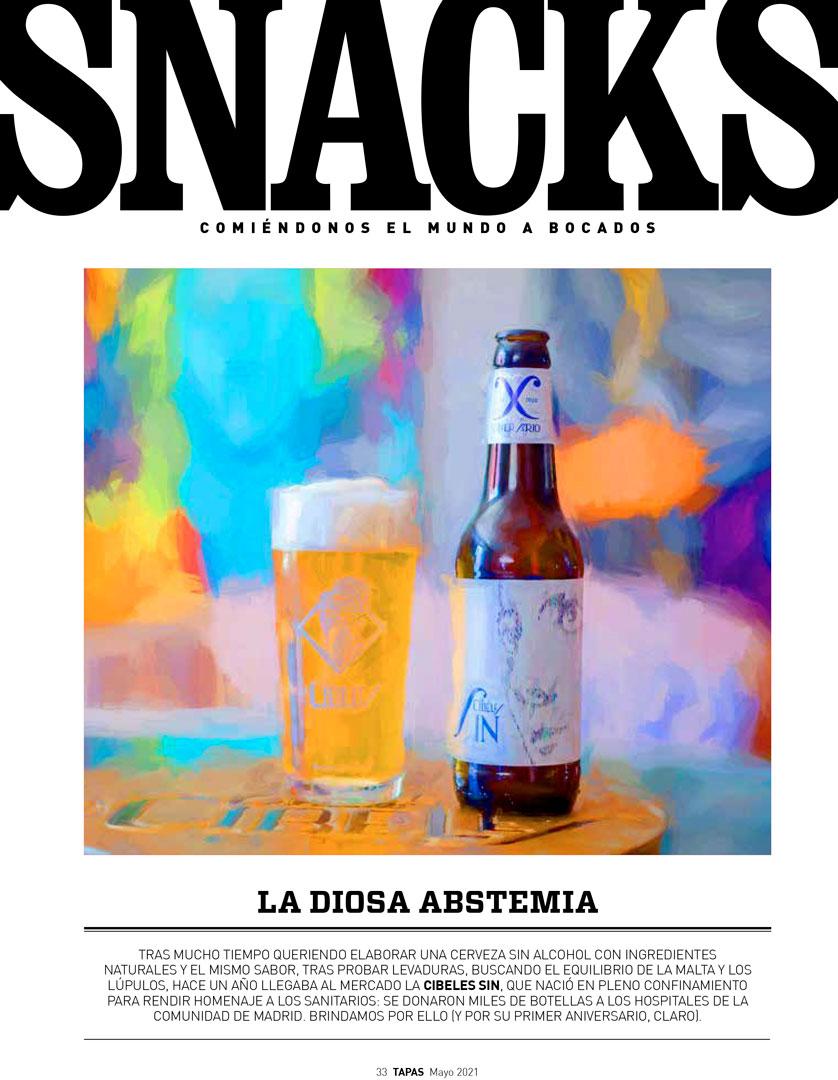 La Cibeles SIN revista Tapas